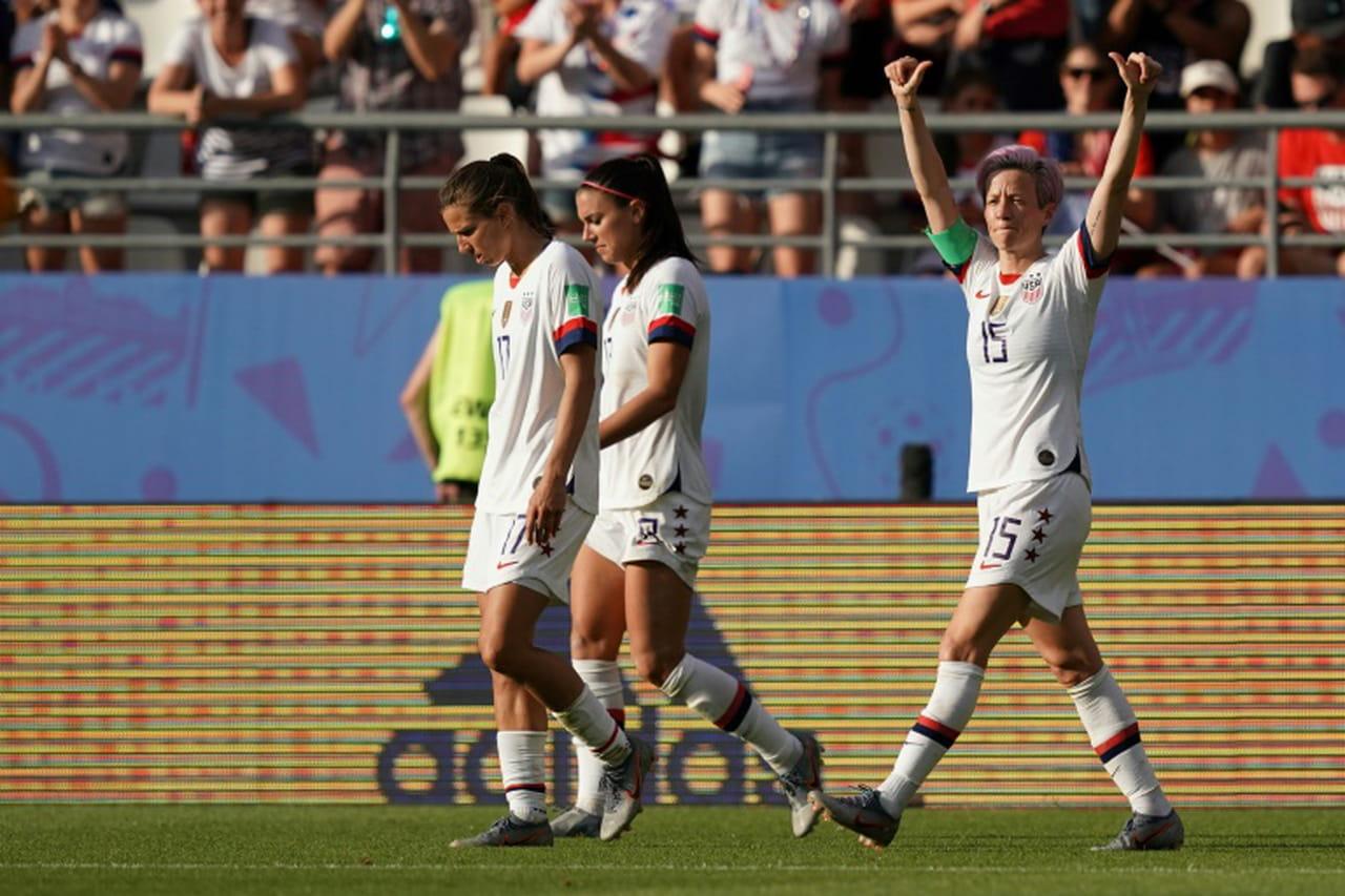 Mondial-2019: les USA évitent le piège espagnol pour défier la France en quarts