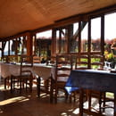 Le Chalet restaurant A75   © Hyperfocale360/Adrien Chambard