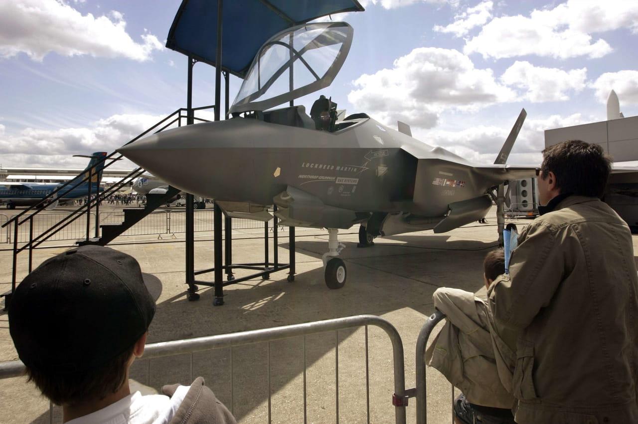 Salon du Bourget 2017: le chasseur F-35américain, star de lévénement