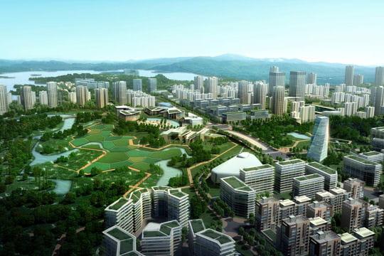 De l'oxygène vert pour Chongqing