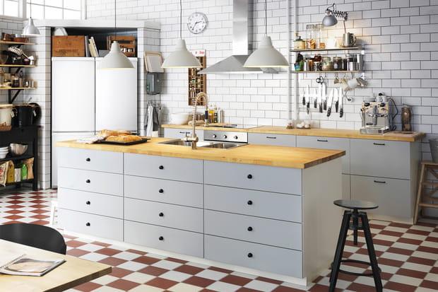 Ilot De Cuisine Metod Veddinge Par Ikea