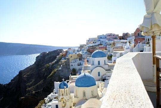 L'île grecque de Santorin