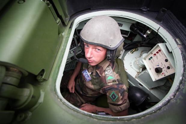 Char Leclerc, du côté de l'opérateur tourelle