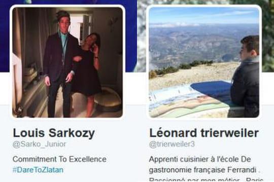 Leonard Trierweiler, Louis Sarkozy: leflinguage continue surTwitter