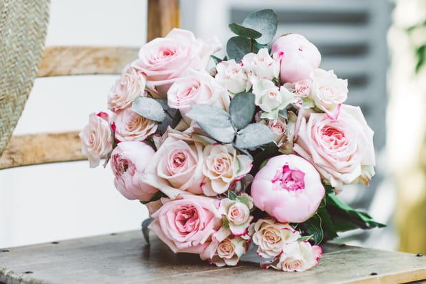 Le bouquet Maman délicieuse d'Au nom de la rose