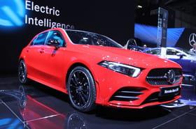 La nouvelle Mercedes Classe Aen images