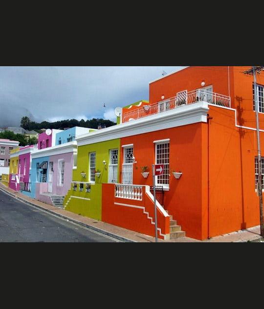 Bo-Kaap, le quartier malais et coloré du Cap