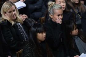 """Laeticia Hallyday: """"Quand elle pleure, c'est son mari qu'elle pleure"""", assure Hélène Darroze"""