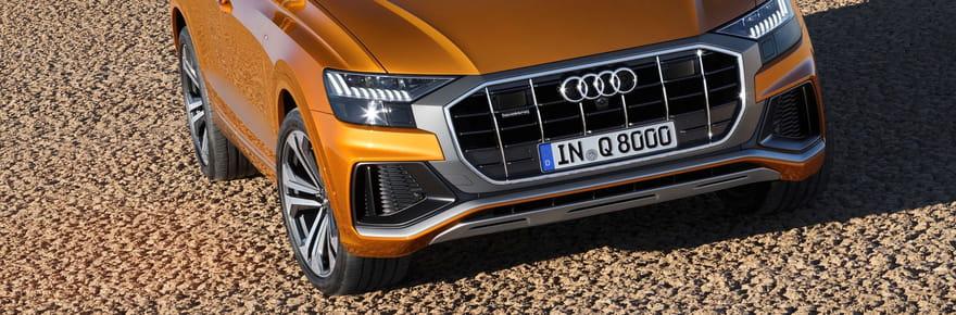 Les premières photos de l'Audi Q8