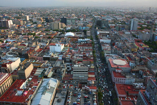 LosInsurgentes,l'avenuelapluslonguedeMexico