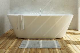 Meilleur tapis de bain: idées, conseils et modèles tendances