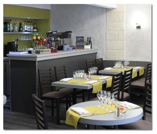 Le Serin  - Intérieur restaurant -   © Brian Caillet