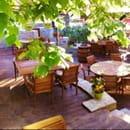 Restaurant : Le Jardin des Secrets  - Terras -