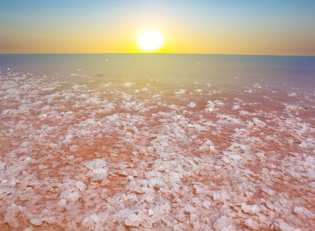 Les lagons salés de Crimée