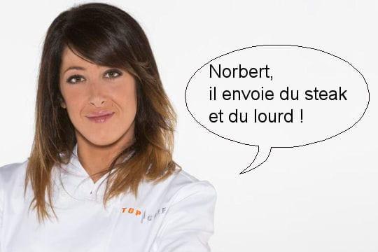 """Latifa: """"Norbert, il envoie du steak et du lourd!"""""""