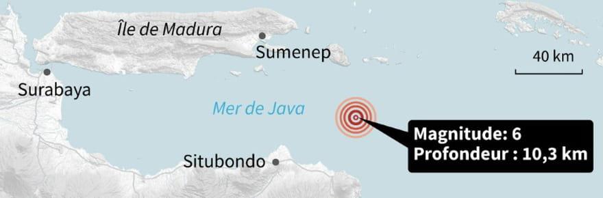 Séismes en Indonésie et Papouasie-Nouvelle-Guinée: au moins 3morts