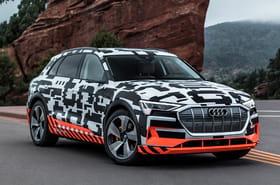Audi e-tron: le SUV 100% électrique arrive