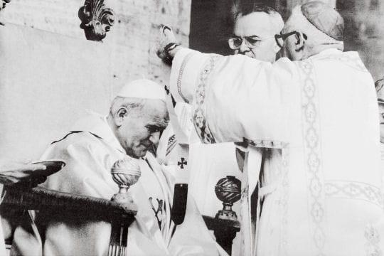 Jean Paul II devient Pape
