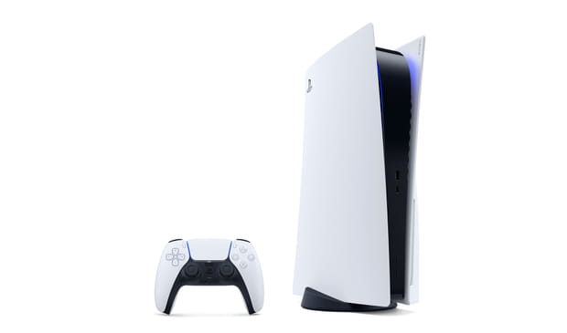 La PS5àla verticale