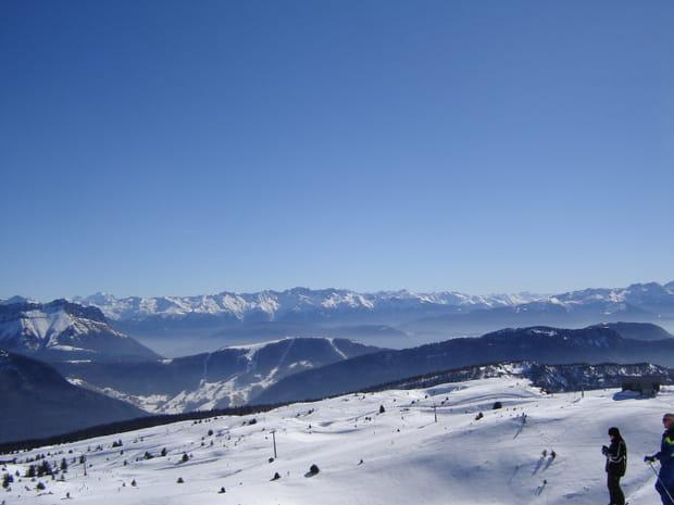 Aillons-Margériaz, Alpes du Nord
