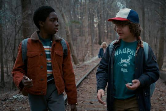 Lucas et Dustin nous parlent de la saison 2de Stranger Things [INTERVIEW]