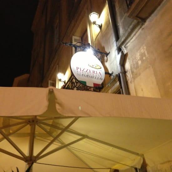 Restaurant : Pizzeria Masaniello
