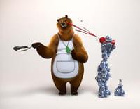Grizzy et les lemmings  : Piratage à tartiner