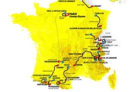 Tour de France 2022: les dates, le parcours officiel et la carte détaillée