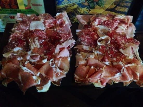 Plat : Les Marmottes  Gourmandes  - Planche de charcuterie artisanale spécial raclette -