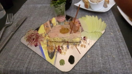 Plat : Restaurant le 7367  - Foie gras... -