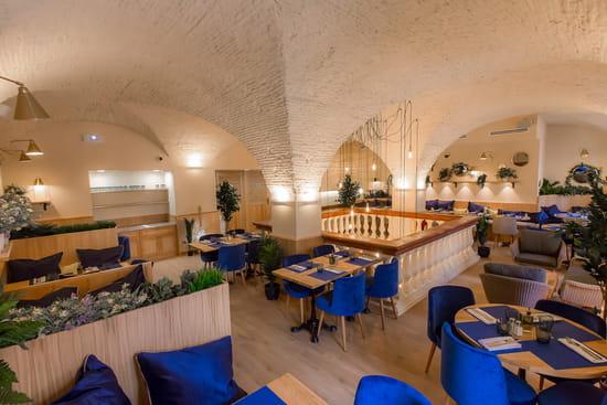 Restaurant : Casa Leya  - Salle à l'étage -   © Casa Leya