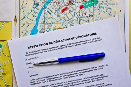 Attestation de déplacement dérogatoire: téléchargez-la ici. Une nouvelle version numérique dès lundi