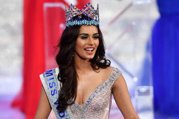 Manushi Chhillar, Miss Monde