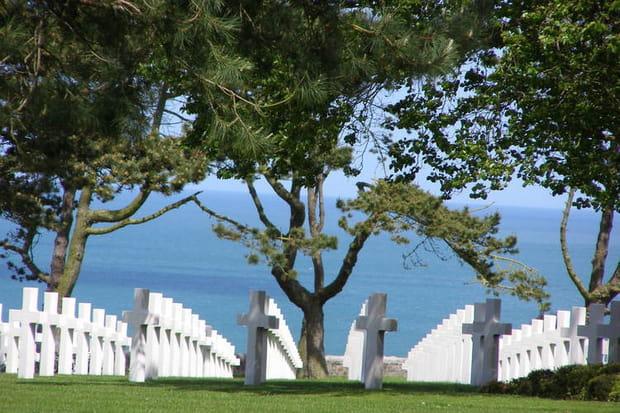 9e: Le Cimetière américain d'Omaha, Colleville-sur-Mer