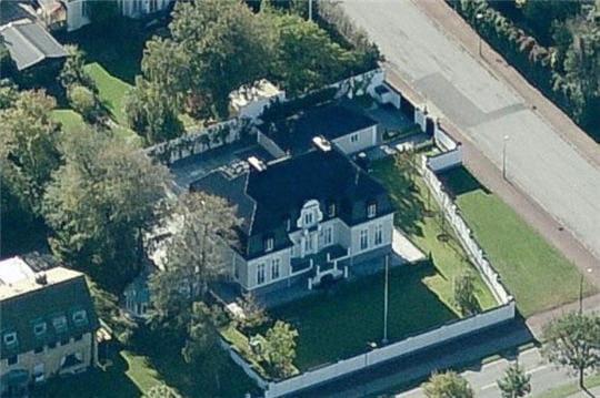 La maison de Zlatan Ibrahimovic