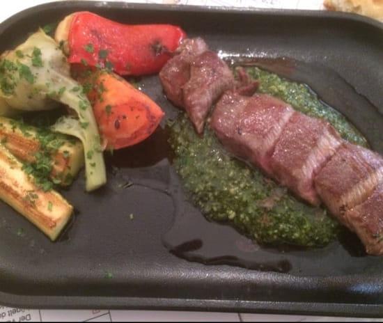 Plat : Les Remparts  - Filet d agneau aux légumes  -