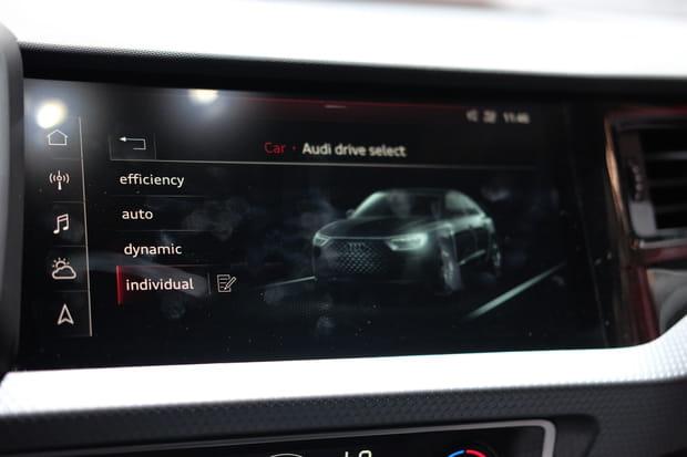 Quatre modes de conduite sur l'Audi A1Sportback