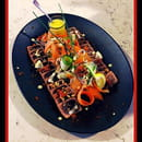 Le Bistronome restaurant Nîmes  - Tataki de thon -   © A