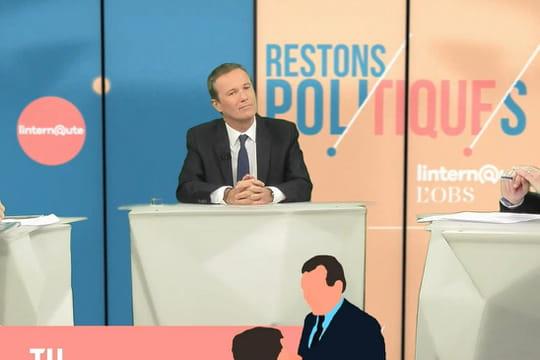 """Nicolas Dupont-Aignan invité de """"Restons poli(tique)s"""": l'intégralité de l'émission"""