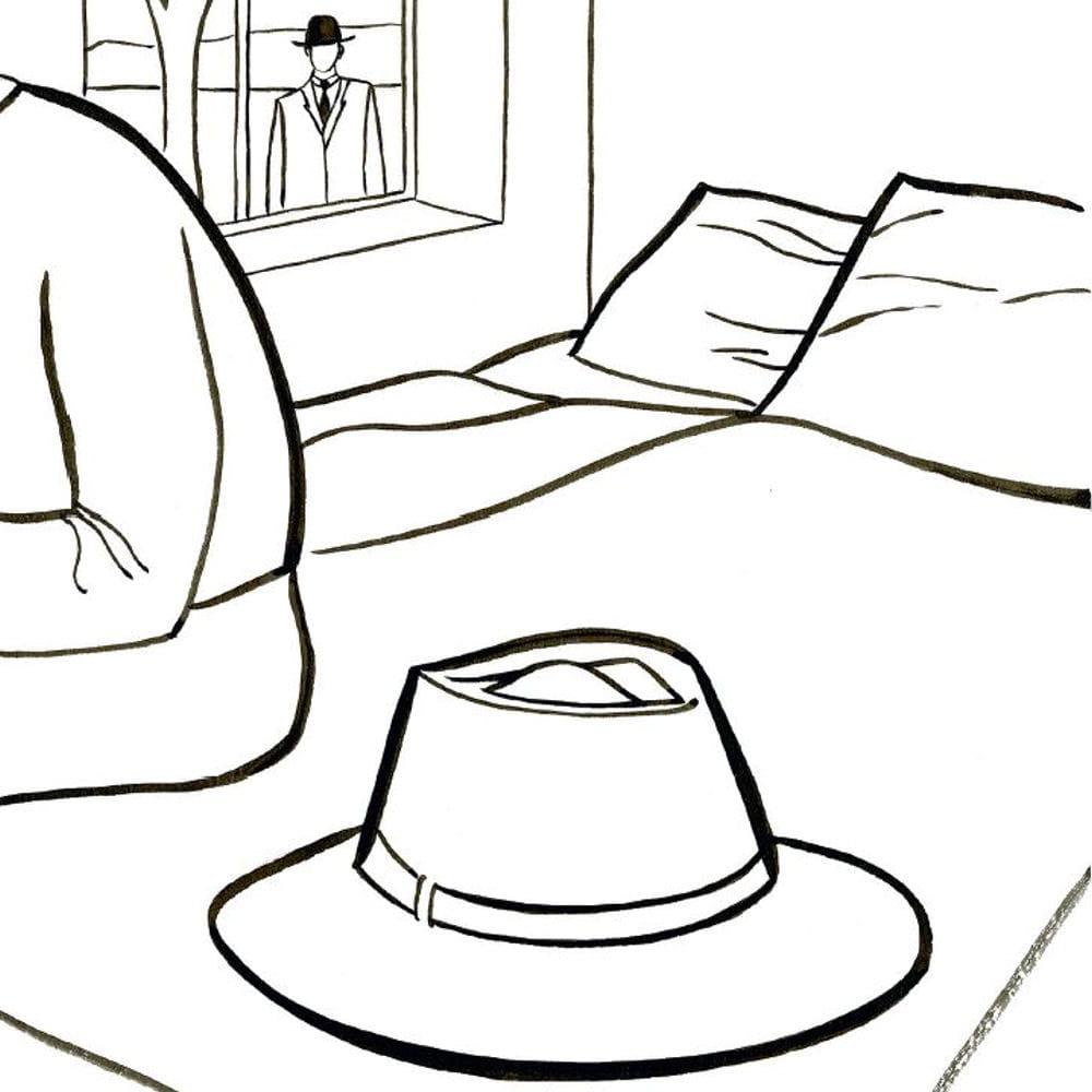 chercher 2019 authentique prix raisonnable Poser un chapeau sur un lit