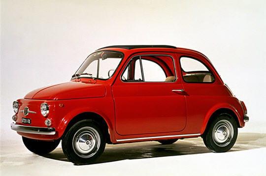 L'ancienne Fiat 500
