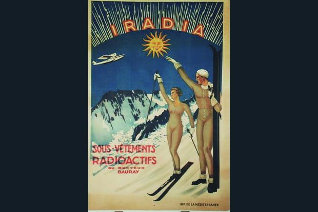 le radium  pour rester jeunes et beaux