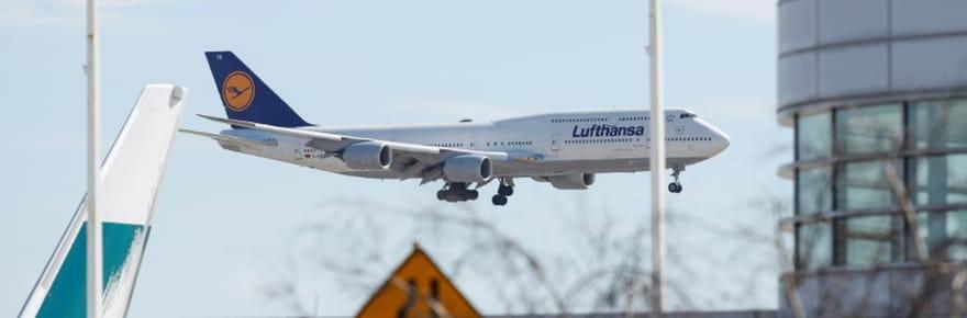 Lufthansa en passe d'être sauvée par l'Etat allemand