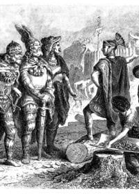 ce sont les romains qui ont laissé le plus de traces des gaulois.