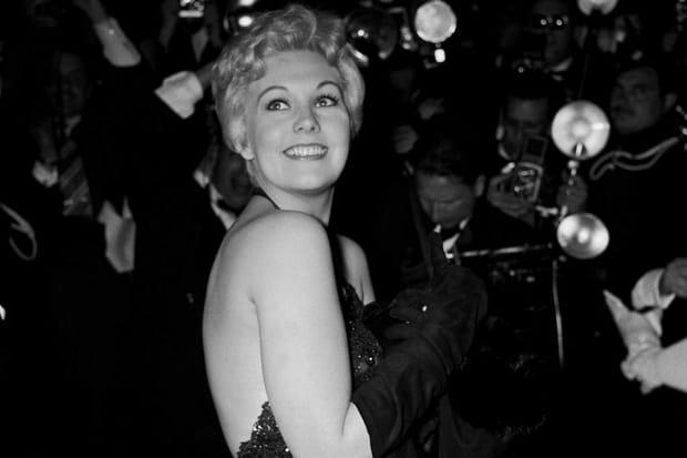 Kim Novak à Cannes en 1956
