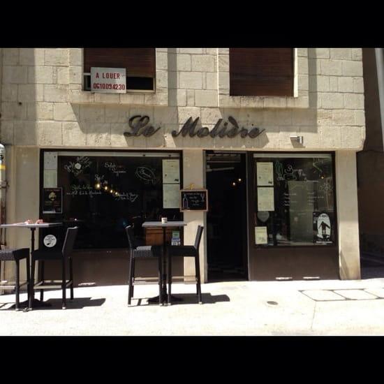 Restaurant : Le Molière  - La façade  -
