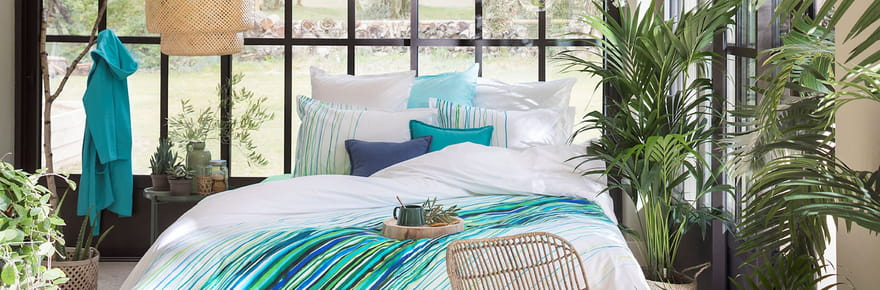 Des parures de lit qui sentent bon l'été