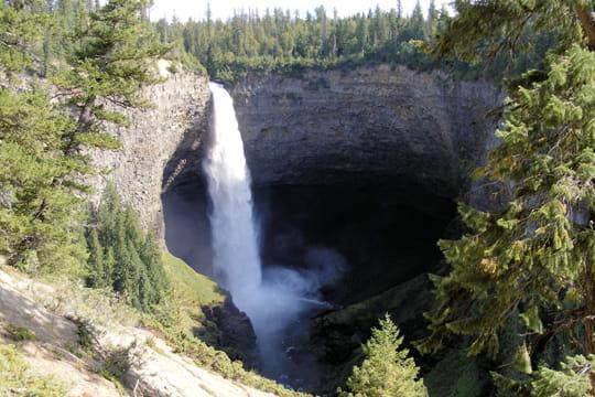 Les cascades de Helmcken