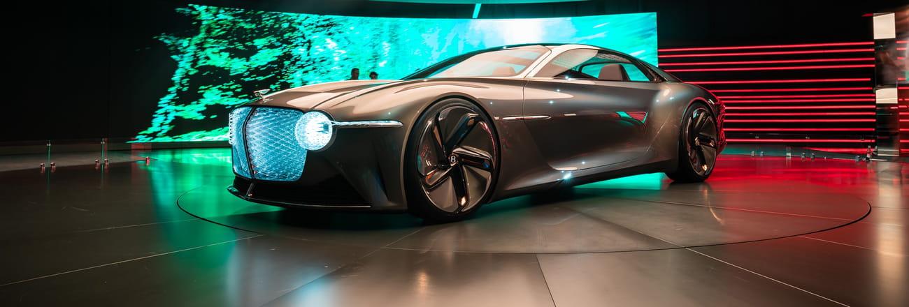 Bentley fête ses 100 ans avec un concept car