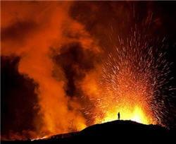 la dernière éruption de ce volcan date de 1821.
